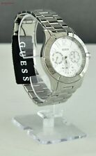New Stylish 100% Original Watch GUESS Silver Stainless Steel Ladies U0816L1
