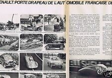 Coupure de presse Clipping 1964 Renault  porte Drapeau de l'automobile (2 pages)