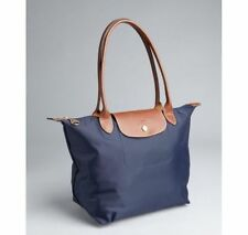 NEW Longchamp Le Pliage Navy blue tote bag size L