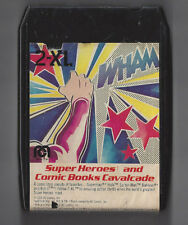 MEGO 2-XL TALKING ROBOT 8 TRACK TAPE SUPER HEROES & COMIC BOOKS CAV WITH BOOKLET
