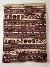 antique Orientteppich pers Shahsavan Tobreh 108x82 Kilim kurdish rug bag tappeto
