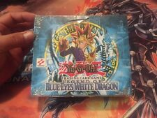Yugioh Unlimited Legend of Blue Eyes White Dragon English Booster Box - Sealed