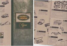 1996 LAND ROVER GEAR Australian Brochure DISCOVERY ONE TEN RANGE ROVER Clothing