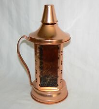SWISS HARMONY INC COPPER MUSICAL DECANTER