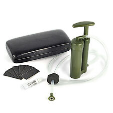 Pure Mini Portable Soldier Pump Backpacking Water Filter Purifier Hiking Camping