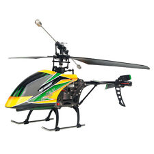 Wltoys V912 4CH 2.4GHz LCD Remote Control Single Blade RC Helicopter Green