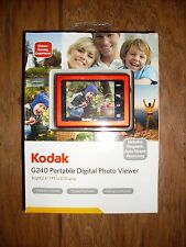 Kodak G240 Portable Digital Photo Viewer NEW in Box