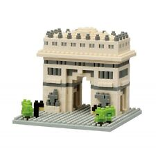 NANO BLOCKS ARC DE TRIOMPHE MINI BRICKS PUZZLE NANOBLOCK GREAT GIFT