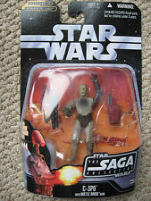 StarWars C-3PO with Battle Droid Head NOT CONNECTED (The Saga Collection)(#017)