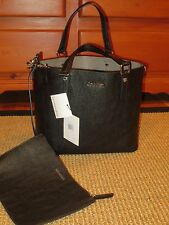 CALVIN KLEIN  TOTE  SHOPPER HANDBAG  REVERSIBLE  BLACK / GRAY  CLUTCH  $158 TAG
