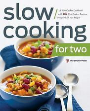 Slow Cooking for Two : A Slow Cooker Cookbook with 101 Slow Cooker Recipes...
