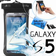 Custodia subacquea impermeabile Galaxy S5,S4,S3.Cover mare,sub + fascia braccio