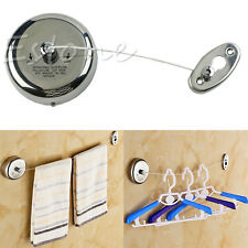 304 Stainless Steel 2.5 M Retractable HOME Indoor Outdoor Clothesline Holiday
