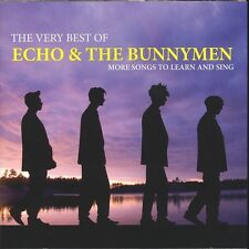 Echo And The Bunnymen Very Best Of CD NEW More Songs To Learn and Sing