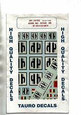 TAURO MODEL 48-502 - DECALS 1/48 AERON. NAZ. REPUBB. INS. - NUOVO