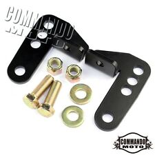 Rear Shock Mount Lowering Drop Kit For 2000-2015 Harley Sportster 883 1200 Black