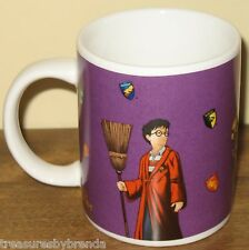 Harry Potter and the Sorcerer's Stone Coffee Mug  Quidditch Hogwarts Sorting Hat