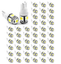 50x T10 194 168 2825 5 x 5050 SMD LED White Super Bright Car Lights Lamp Bulb