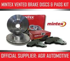 MINTEX FRONT DISCS AND PADS 255mm FOR TOYOTA COROLLA 1.4 VVT-I 97 BHP 2002-06