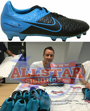 JOHN TERRY CHELSEA SIGNED NIKE FOOTBALL BOOT SEE REAL VIDEO PROOF & COA