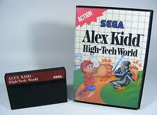 ALEX KIDD HIGH-TECH WORLD für Sega Master System - MS SMS Modul in OVP ohne Anl.