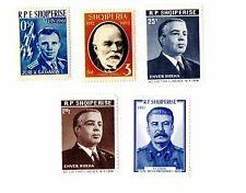 1962-69 Albania Stamps  Mixed Lot of 5 Stamps  MNH