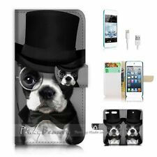iPod Touch 6 iTouch 6 Flip Wallet Case Cover! P1352 Dog