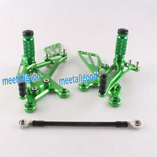 Rearset Rear Set Foot Pegs for Kawasaki Ninja ZX6R 2005 2006 2007 2008 Green