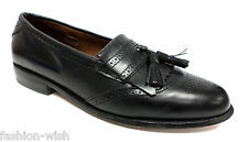 ALLEN EDMONDS Black 'Bridgeton' Size 8.5 C or Narrow Loafers or Shoes 8 1/2