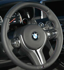 BMW OEM F10 M5 F06 F12 F13 M6 M Sport Heated Steering Wheel Tri-Color Stitching