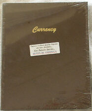 Dansco Coin Album 7001 Currency Stock Book 9 pages 3 Pockets per Page