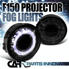 2006-2008 Ford F150 Smoke Halo Rim Projector Fog Lights Bumper Lamps