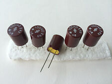 10x NOS 100uF/40V SIEMENS GPF (=ROE EK) vintage bakelite capacitors for audio