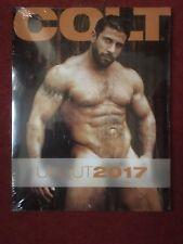 COLT UNCUT CALENDAR 2017 - New and Sealed - Gay Interest - Colt Studio