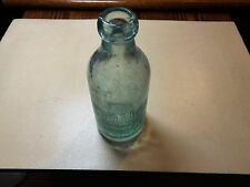 Antique John Howell Buffalo N.Y. Blob Top Aqua-green color Pop/Soda Bottle