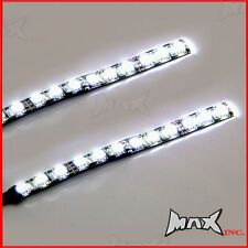 14CM Flexible Stick On Day Time Ultra Bright Safety LED Light Strips - 12 Volt