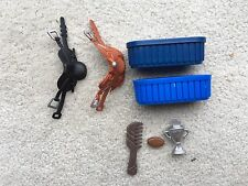 Breyer Horse Stablemate Accessories Western Saddles Trough Trophy Lot Tack