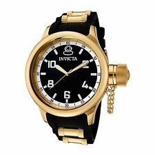 Invicta Men's 1436 Russian Diver Gold-Tone Quartz Watch