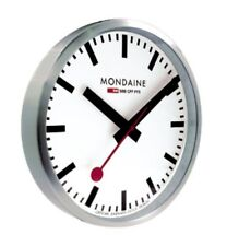MONDAINE Official Swiss Railways WALL CLOCK 40cm (A995.CLOCK.16SBB)