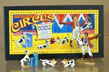 Britains 08669 CIRCO DOG handler & Performing Cani Set MINT BOXED NA