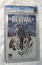 Revival #1 1:10 Cover, CGC 9.8 graded NM/MT
