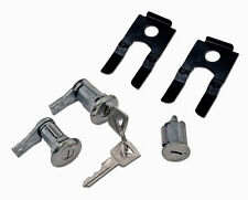 NEW 1964-1966 Ford Mustang Lock set doors & Ignition Matched set, Keys, Clips