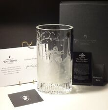 "NEW WATERFORD CRYSTAL FOUR SEASONS AUTUMN MUSE 10"" VASE ~ w/ COA $2200"