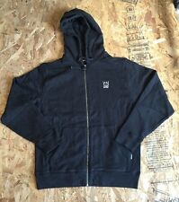 MENS UNDEFEATED TEAM FULL ZIP BLACK SIZE LARGE NWT UNDFTD