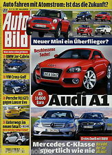 Auto Bild 4 2007 BMW 335i Cabrio Z4 VW Cross Golf Polo GTI Hanomag F45 911 GT3