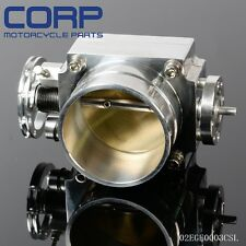 80mm HIGH FLOW Alloy Aluminum Universal CNC Billet Intake Throttle Body SL