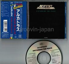 ALCATRAZZ Disturbing The Peace JAPAN CD TOCP-6853 '91 issue w/OBI+Blue Jewel VAI