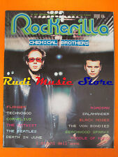 rivista ROCKERILLA 257/2002 Chemical Brother  Death In June Malombra * NO cd