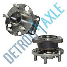 Pair: 2 New REAR 2002-08 Jaguar X-Type Complete Wheel Hub and Bearing Assembly