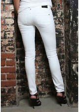 NWT Genetic Denim Shane Skinny Jeans in Pale White 26 $192